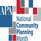 National Community Planning Month logo