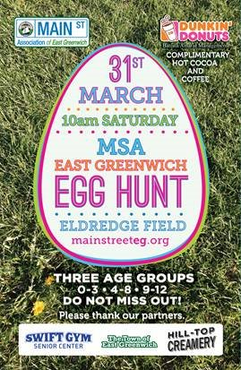 Egg Hunt Announcement