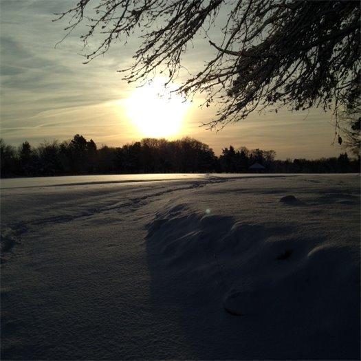 Sun Snow Goddard