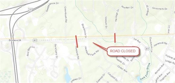 Division Street closure